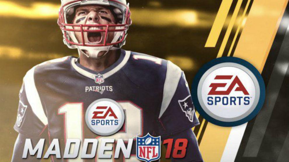 Tom Brady, en la portada del Madden NFL 18