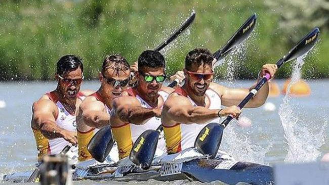 El K-4 español que va a por el oro mundial