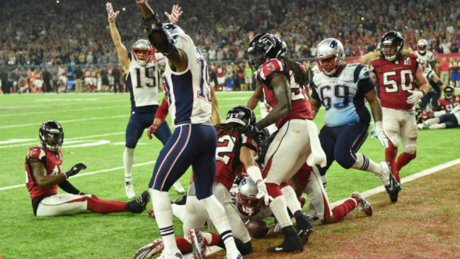 Super Bowl 2017 entre New England Patriots v Atlanta Falcons