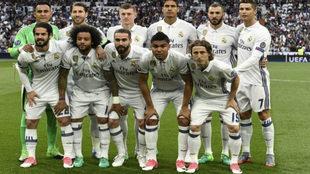 Plantilla del Real Madrid