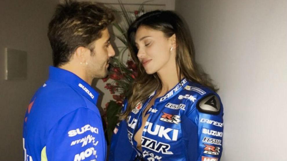 Andrea, junto a Belén, en una imagen de esta temporada.