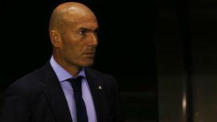 Zidane, en Riazor en el debut liguero del Madrid este curso