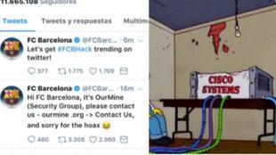 La máquina portavoz del Barça