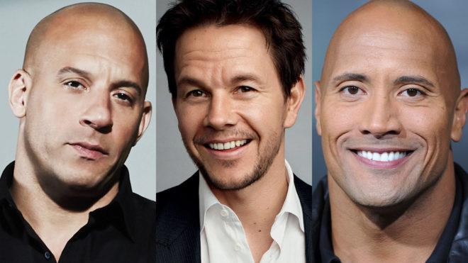 Vin Diesel, Mark Wahlberg y Dwayne Johnson, entre los mejor pagados...
