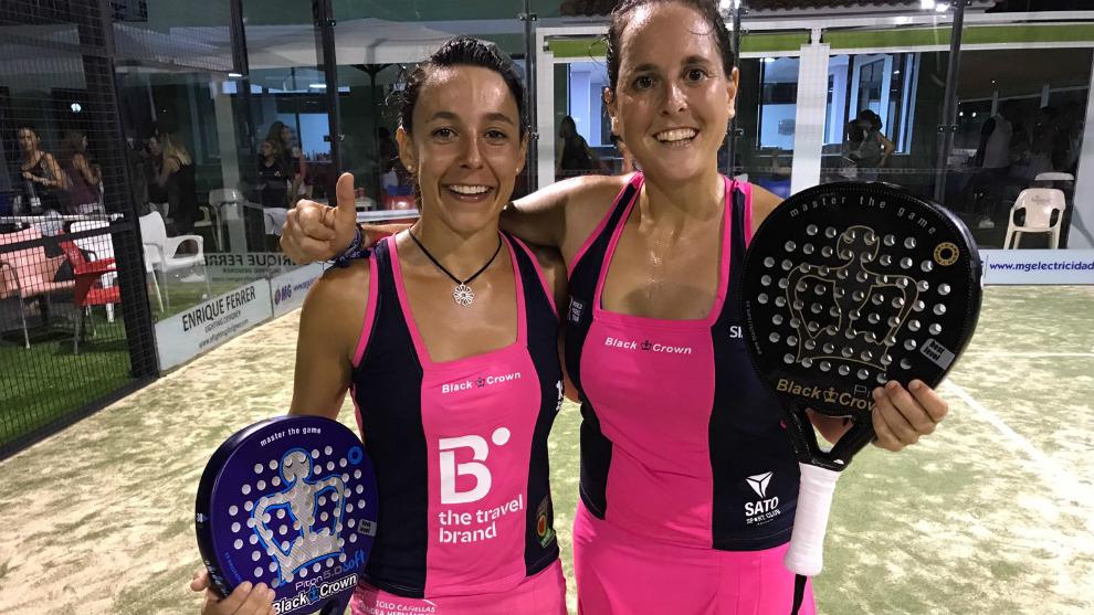 Sandra Hernández y Ana Fernández de Ossó