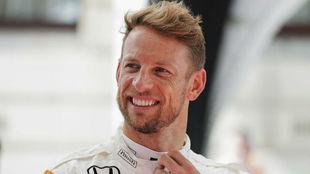 El piloto de McLaren Honda Jenson Button.