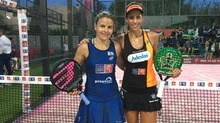 Cata Tenorio y Marta Marrero