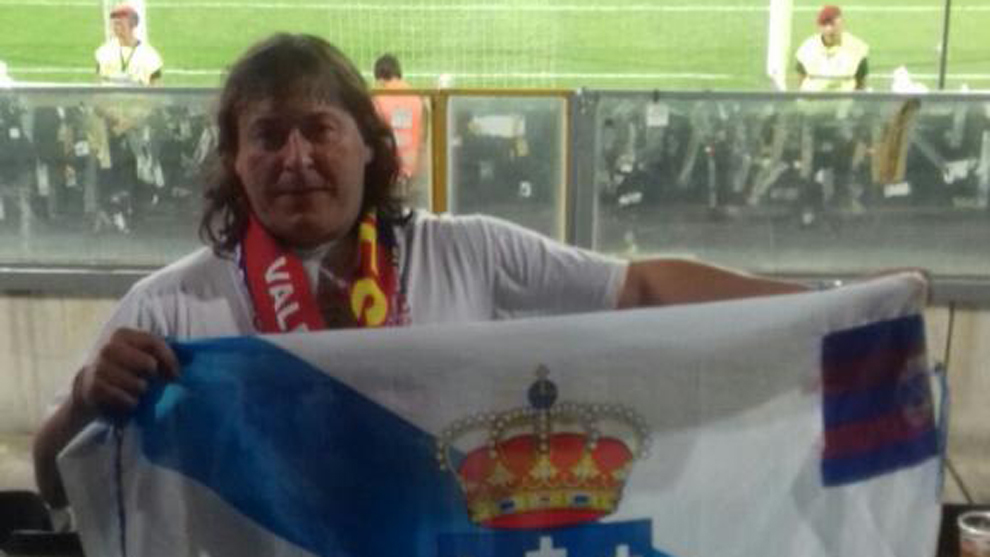 Paco Gallego, seguidor del Chaves