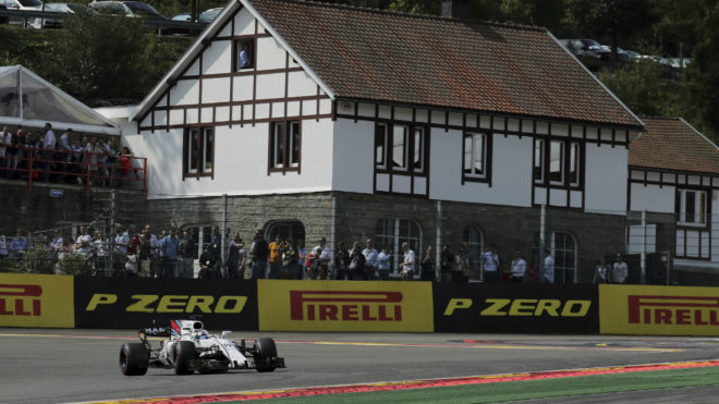 Felipe Massa, en Spa.