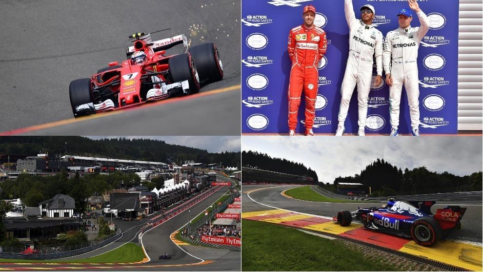 Las mejores imágenes del sábado en el GP de Bélgica