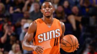Brandon Knight, en un encuentro de los Phoenix Suns.