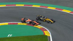 Alonso, en Spa Francorchamps