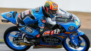 Aron Canet en Silverstone