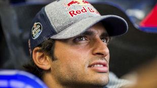 Carlos Sainz, en Spa-Francorchamps