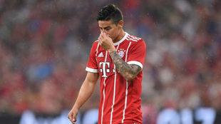 James, con el Bayern.