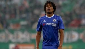 Remy, en un partido con el Chelsea.
