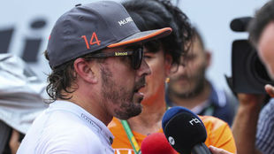 Fernando Alonso, en Spa-Francorchamps