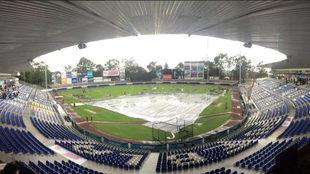 La lluvia estropeó el cuarto juego de la serie