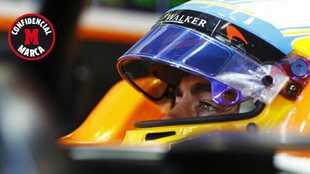 Fernando Alonso, en Spa Francorchamps