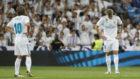 Kroos y Modric en el Bernab�u tras empatar ante el Valencia