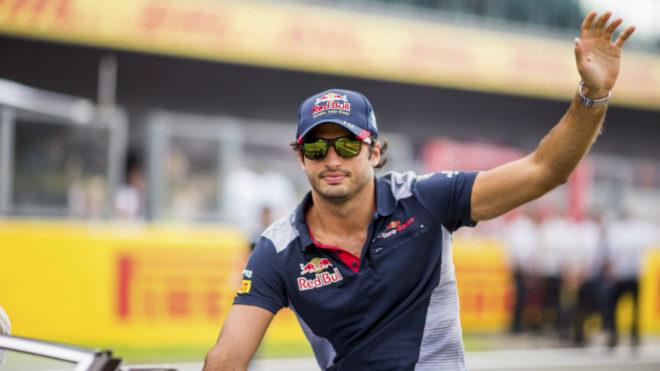 Carlos Sainz, en Spa.