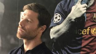 Xabi Alonso en las jornadas t�cnicas organizadas por la UEFA.