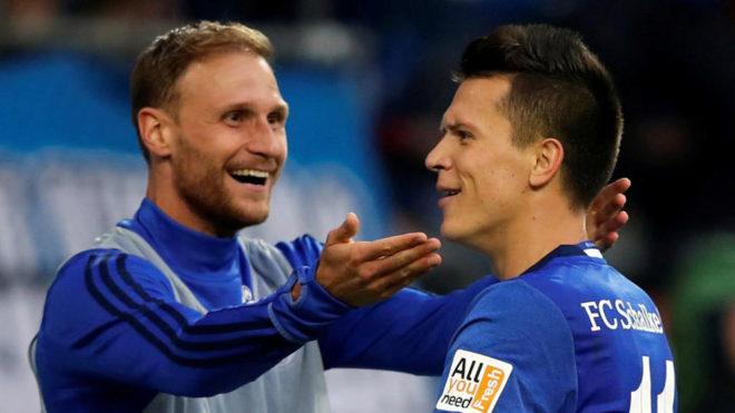 Höwedes, en el Schalke.