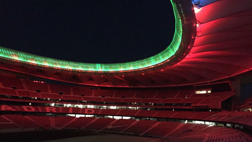 Ya se realizan pruebas de iluminación en el Metropolitano