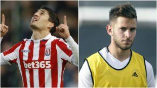 Bojan Krkic (27) y �lvaro Medr�n (23) podr�an incorporarse al...