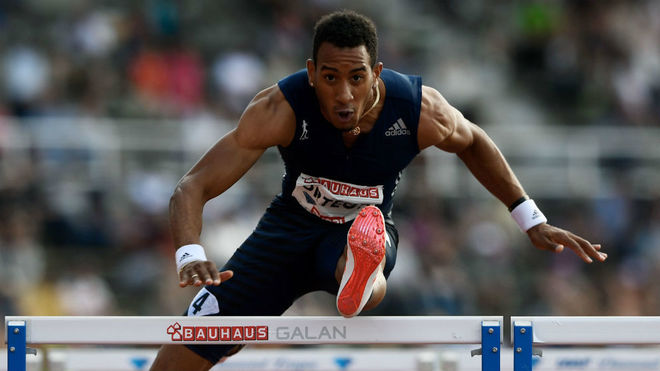 Orlando Ortega, en la cita de Estocolmo de la Diamond League.