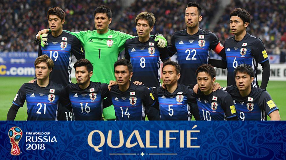 Resultado de imagen para selección de fútbol de Japón 2018
