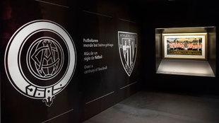 Im�genes del museo del Athletic Club.