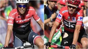 Alberto Contador ara�� tiempo a Froome en una etapa inesperada.