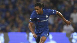 Remy, con el Chelsea.
