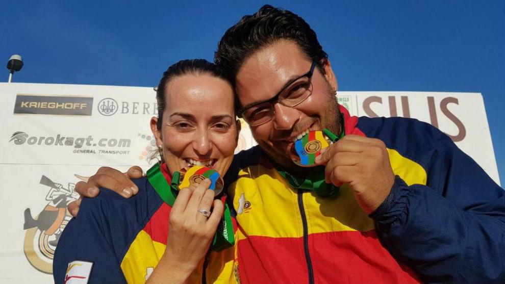 Fátima Gálvez y Alberto Fernández celebran un triunfo en categoría...