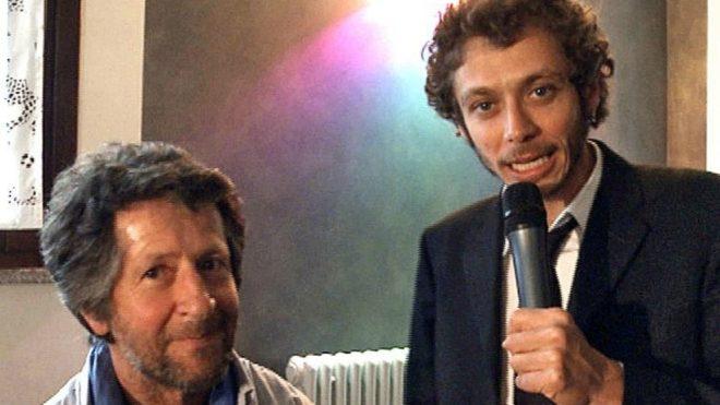 Graziano, con Valentino