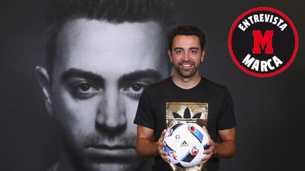 Marca entrevista a Xavi Hernández