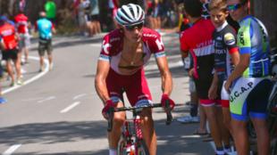Maxim Belkov, en la Vuelta.
