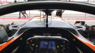 La visi�n del halo desde el asiento de Alonso