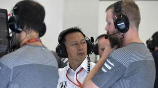 Yusuke Hasgawa, en Spa Francorchamps