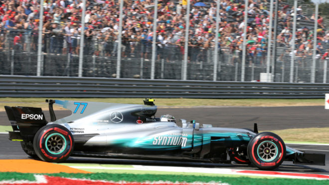 Bottas, en Autódromo de Monza