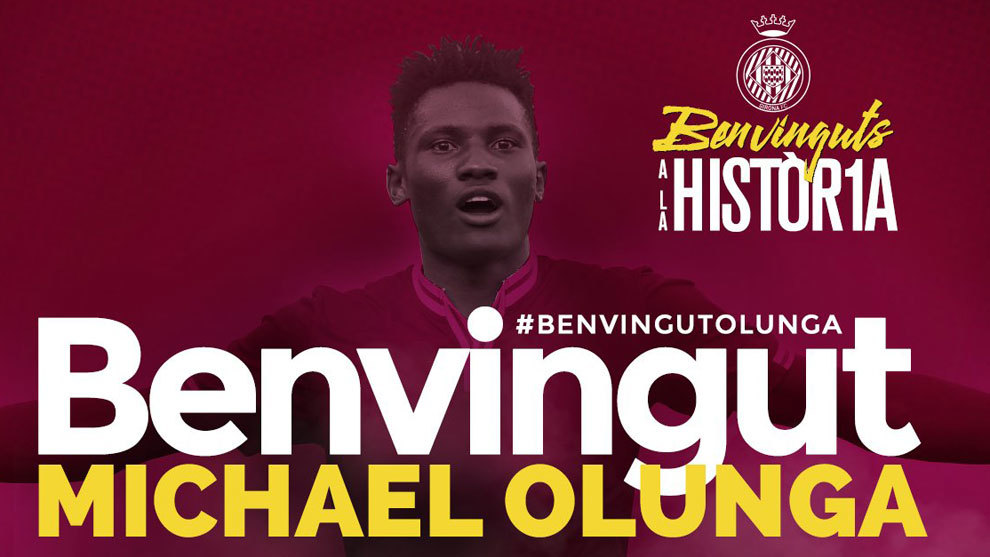 Michael Olunga, nuevo jugador del Girona.