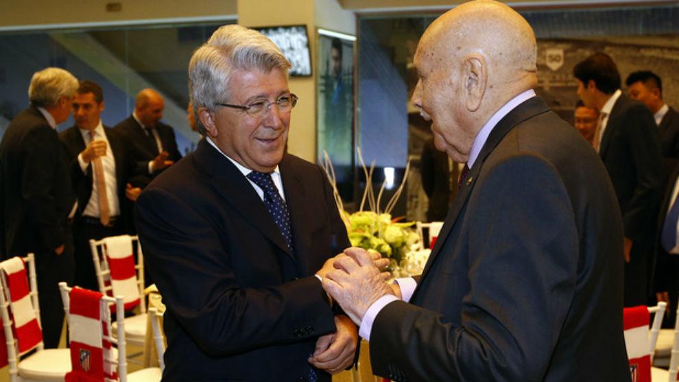 Enrique Cerezo con José Luis Rodríguez