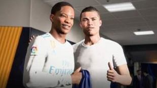Alex Hunter y Cristiano Ronaldo