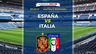 España Vs Italia - Santiago Bernabéu - Clasificación Mundial 2018