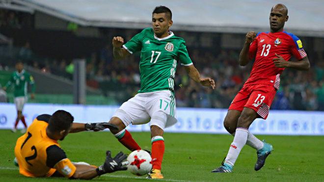 El Tecatito se quedó cerca del gol.