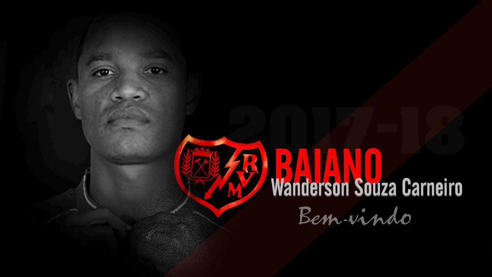 Presentación de Baiano como nuevo jugador del Rayo