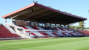 Grada del estadio Montilivi