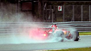 Ferrari corre en casa
