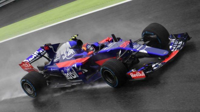 Sainz, en Monza.